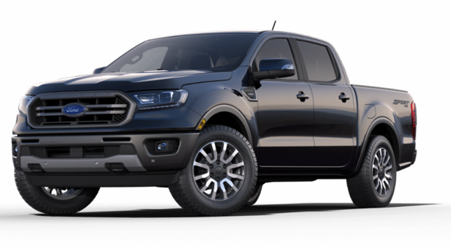 New 2019 Ford Ranger Lariat Truck 1FTER4FH0KLB20124 for sale in Huntley, IL